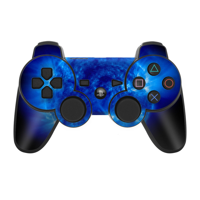 ps3 controller skin blue giant decalgirl. Black Bedroom Furniture Sets. Home Design Ideas