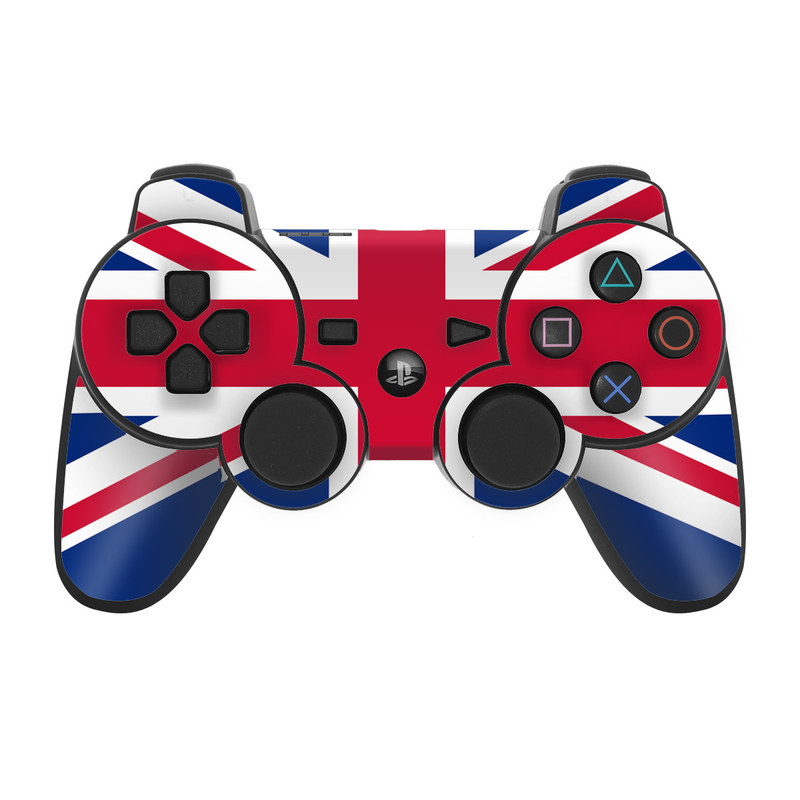 ps3 controller skin union jack by flags decalgirl. Black Bedroom Furniture Sets. Home Design Ideas