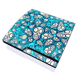PS3 Slim Skin - Satch Face