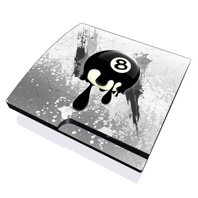 PS3 Slim Skin - 8Ball
