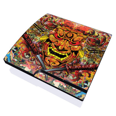 PS3 Slim Skin - Asian Crest