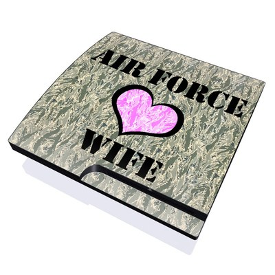 PS3 Slim Skin - Air Force Wife
