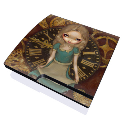 PS3 Slim Skin - Alice Clockwork
