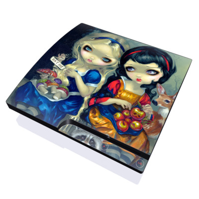 PS3 Slim Skin - Alice & Snow White