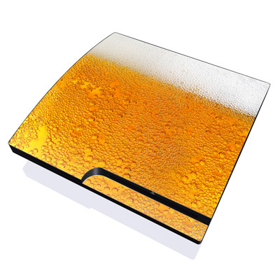 PS3 Slim Skin - Beer Bubbles