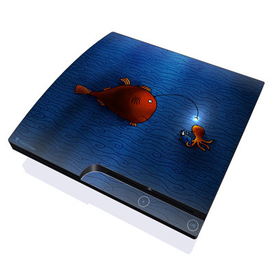 PS3 Slim Skin - Angler Fish