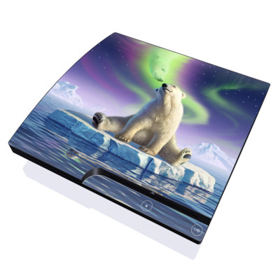 PS3 Slim Skin - Arctic Kiss