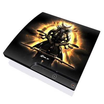 PS3 Slim Skin - Armor 01