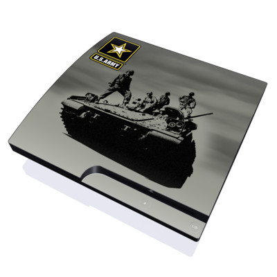 PS3 Slim Skin - Army Troop