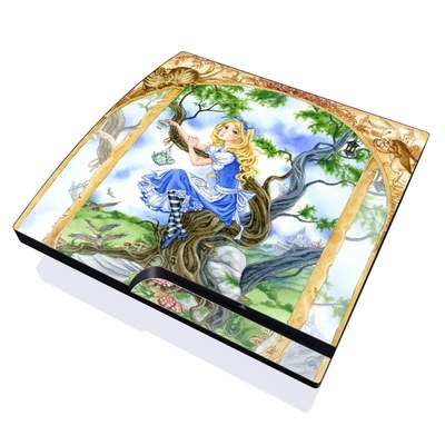 PS3 Slim Skin - Alice's Tea Time