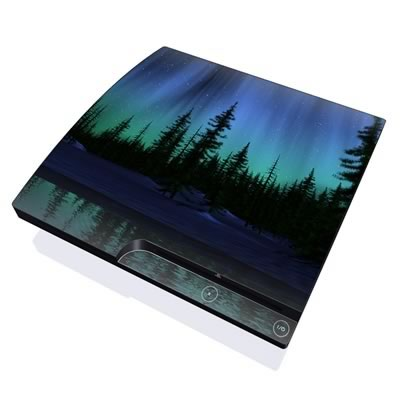 PS3 Slim Skin - Aurora