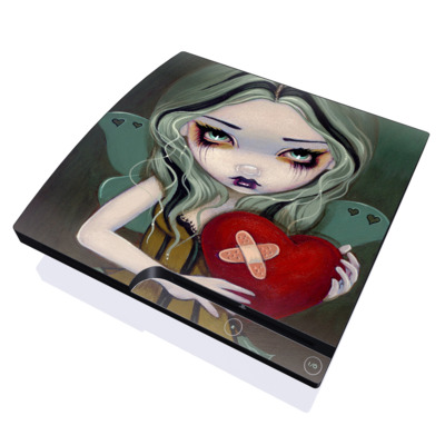 PS3 Slim Skin - Broken Heart