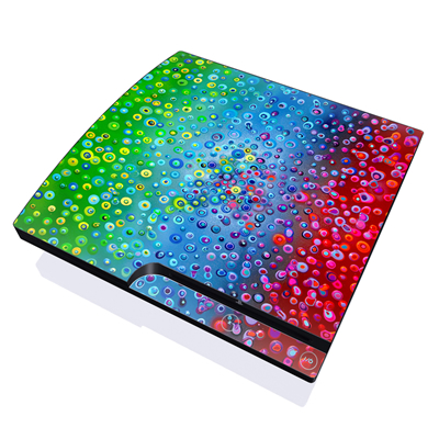 PS3 Slim Skin - Bubblicious