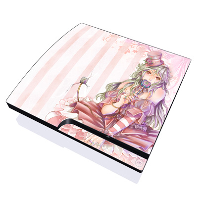 PS3 Slim Skin - Candy Girl