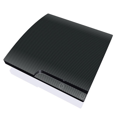 PS3 Slim Skin - Carbon