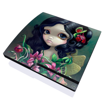 PS3 Slim Skin - Carnivorous Bouquet