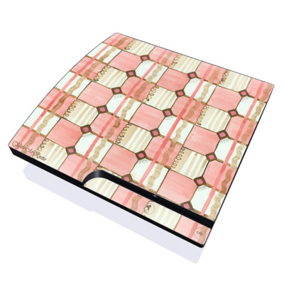 PS3 Slim Skin - Chic Check