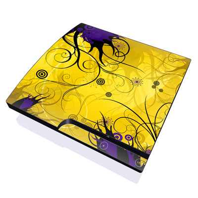 PS3 Slim Skin - Chaotic Land