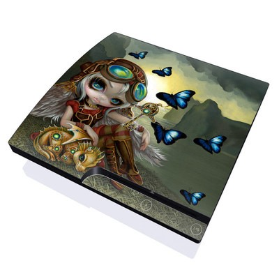 PS3 Slim Skin - Clockwork Dragonling