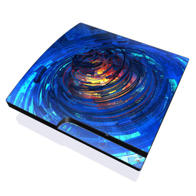 PS3 Slim Skin - Clockwork