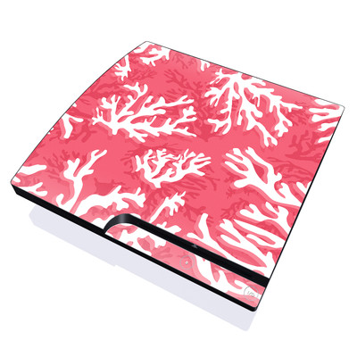 PS3 Slim Skin - Coral Reef