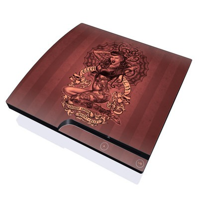 PS3 Slim Skin - If Looks Could Kill