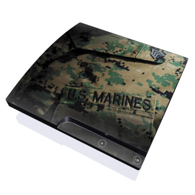 PS3 Slim Skin - Courage