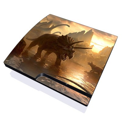 PS3 Slim Skin - Cretaceous Sunset