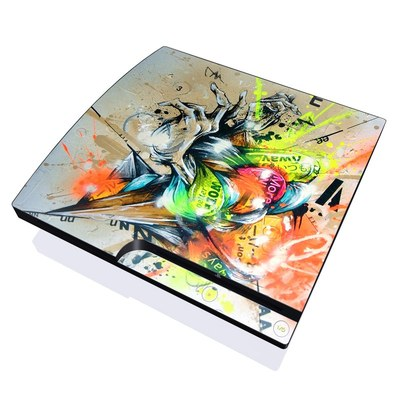 PS3 Slim Skin - Dance