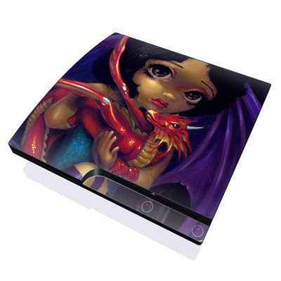 PS3 Slim Skin - Darling Dragonling