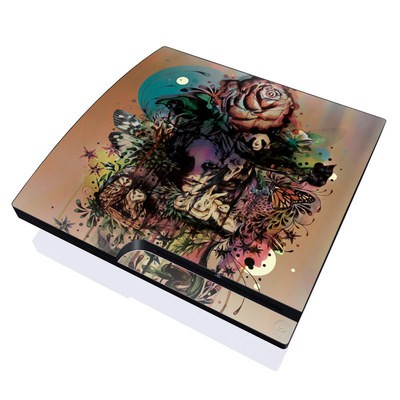 PS3 Slim Skin - Doom and Bloom