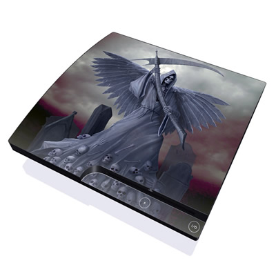 PS3 Slim Skin - Death on Hold