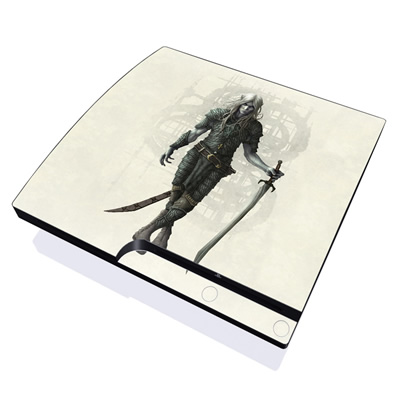 PS3 Slim Skin - Dark Elf