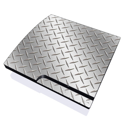 PS3 Slim Skin - Diamond Plate
