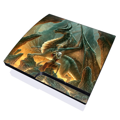 PS3 Slim Skin - Dragon Mage