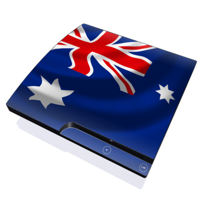 PS3 Slim Skin - Down Under