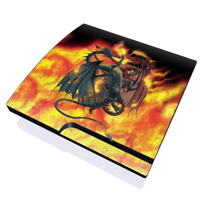 PS3 Slim Skin - Dragon Wars