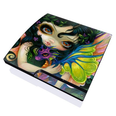 PS3 Slim Skin - Dragonling Child