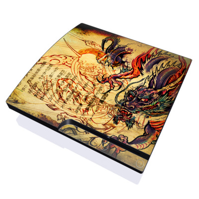 PS3 Slim Skin - Dragon Legend
