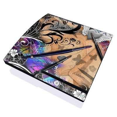 PS3 Slim Skin - Dream Flowers