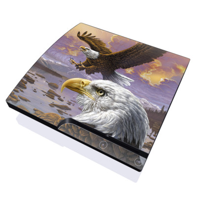 PS3 Slim Skin - Eagle