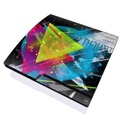 PS3 Slim Skin - Element-City