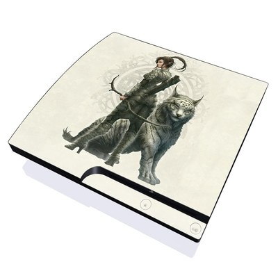 PS3 Slim Skin - Half Elf Girl