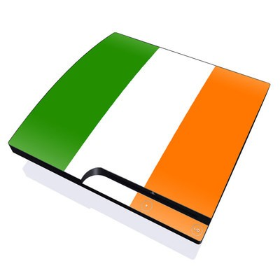 PS3 Slim Skin - Irish Flag