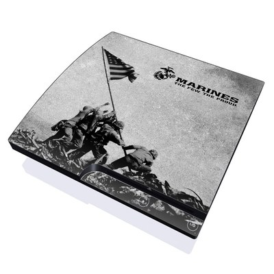 PS3 Slim Skin - Flag Raise