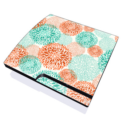 PS3 Slim Skin - Flourish