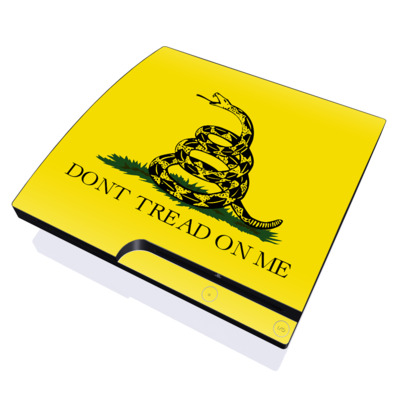 PS3 Slim Skin - Gadsden Flag