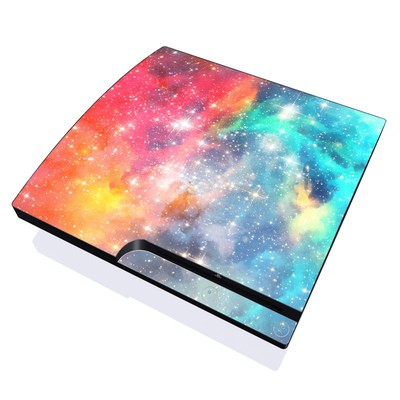 PS3 Slim Skin - Galactic