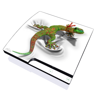 PS3 Slim Skin - Gecko