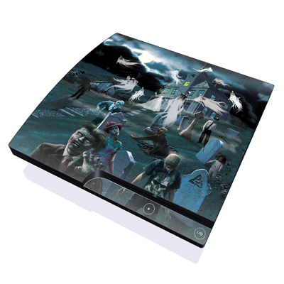 PS3 Slim Skin - Graveyard